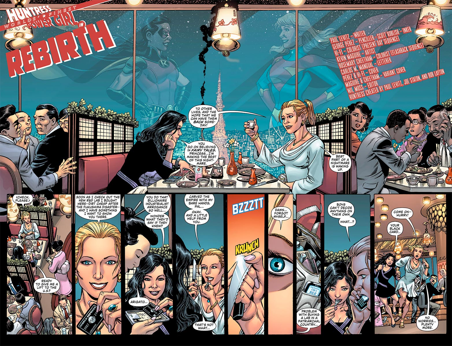 World's Finest #1 - page 2 and 3 Preview
