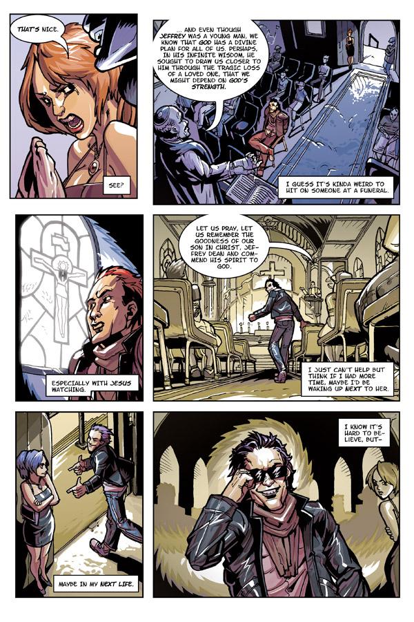 Grim Leaper # 1 page 1
