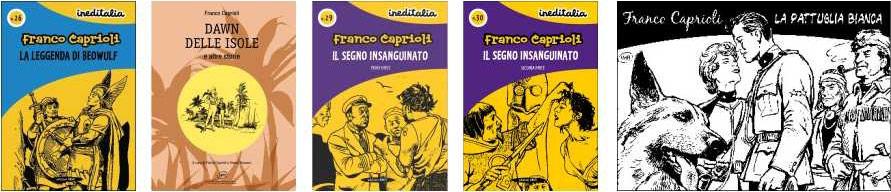 capas de algumas das edições à venda