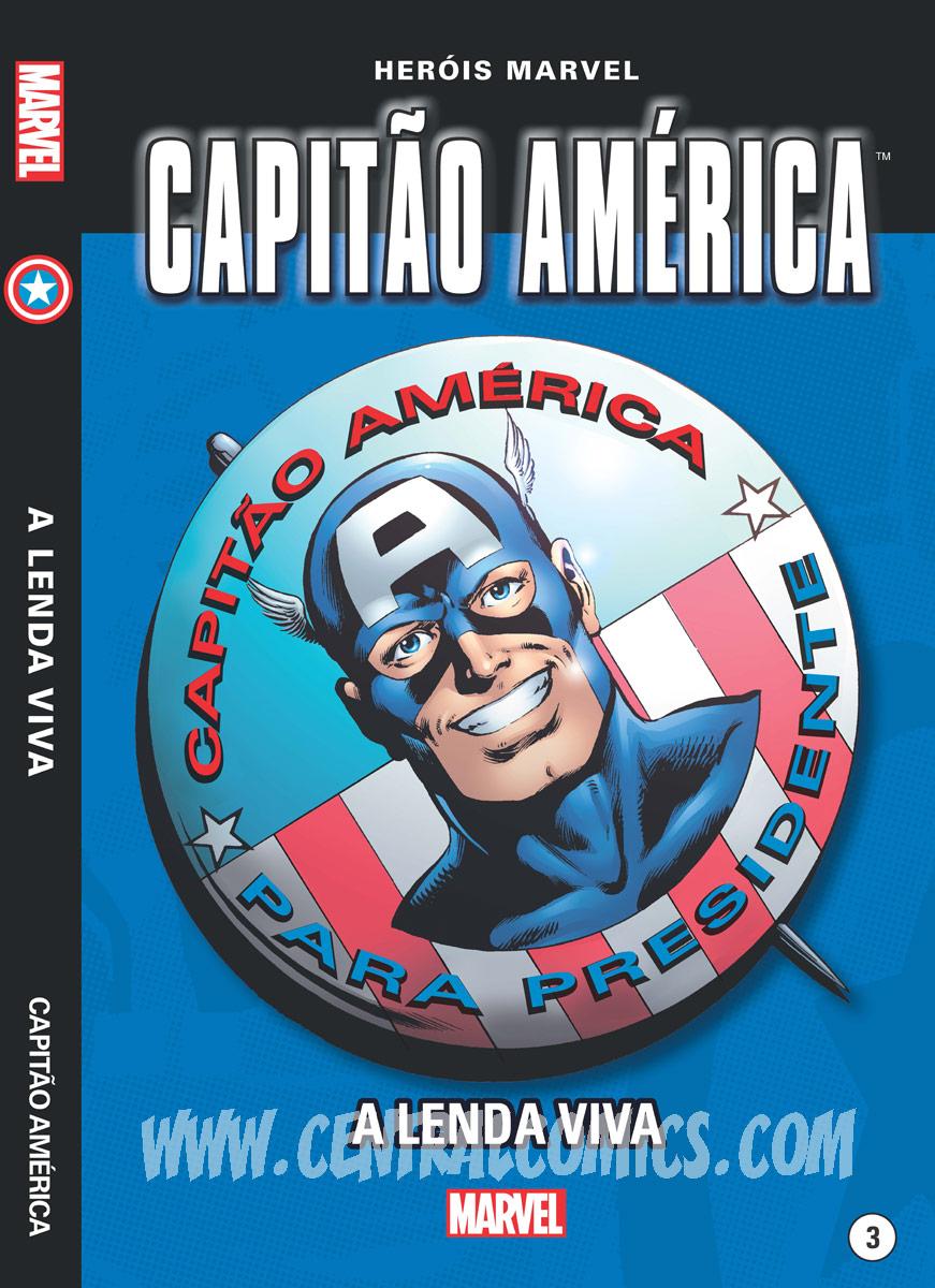 Capitão América - A Lenda Viva capa