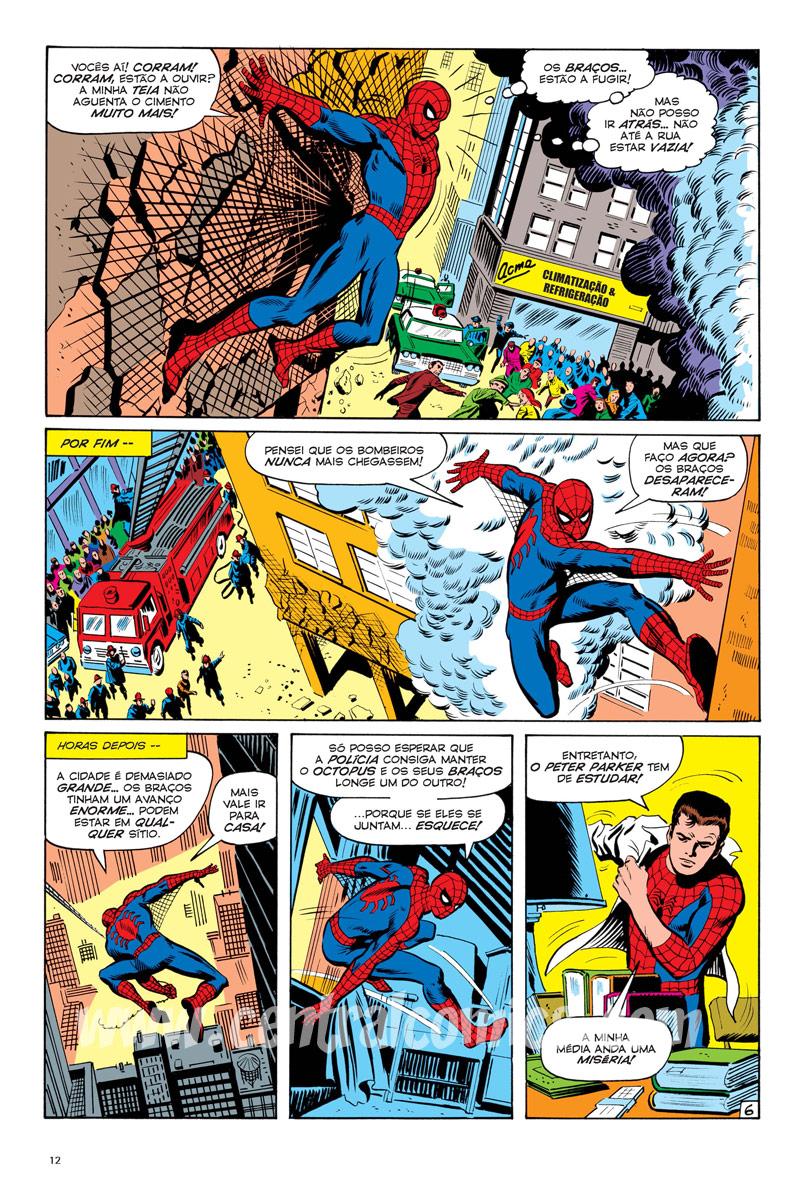 Homem-Aranha: Morte Dos Stacy Página 6