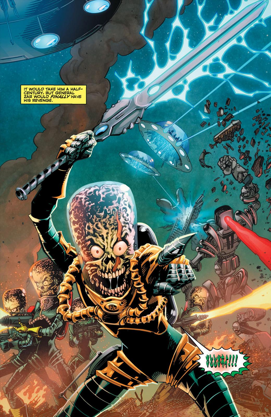 Mars Attacks #1 - page 4