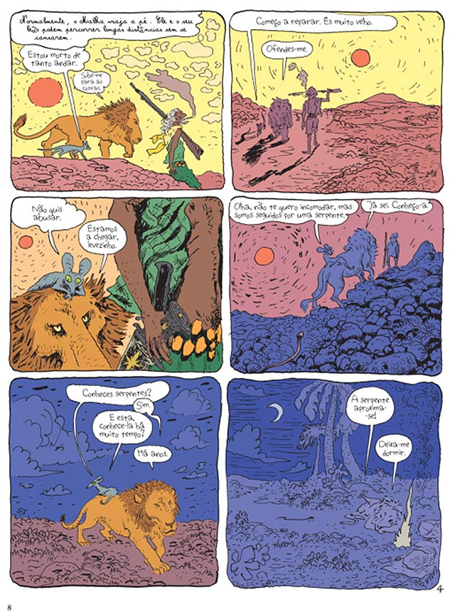 O Gato do Rabino – tomos 4 e 5 - O Paraíso Terrestre/Jerusalém de África