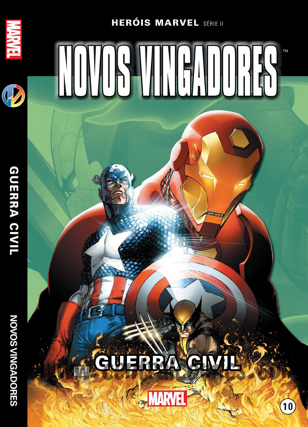 Novos Vingadores Guerra Civil capa