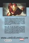 Homem de Ferro Extremis Contra-capa