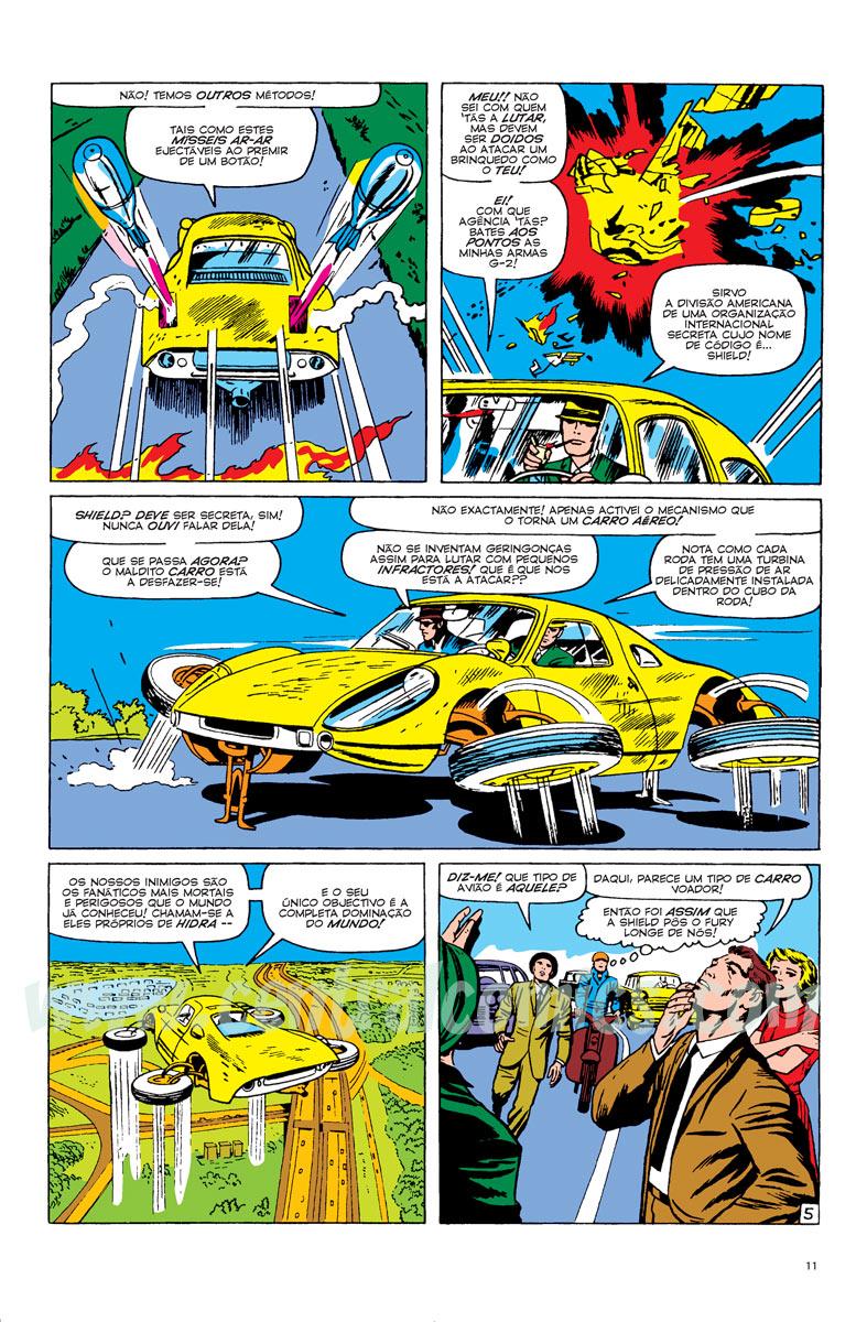 Nick Fury - Agente da Shield - Página 5