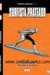 Surfista Prateado Parabola capa