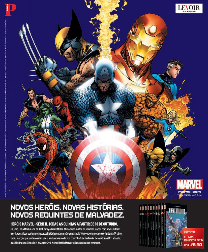 Colecção Heróis Marvel Série II