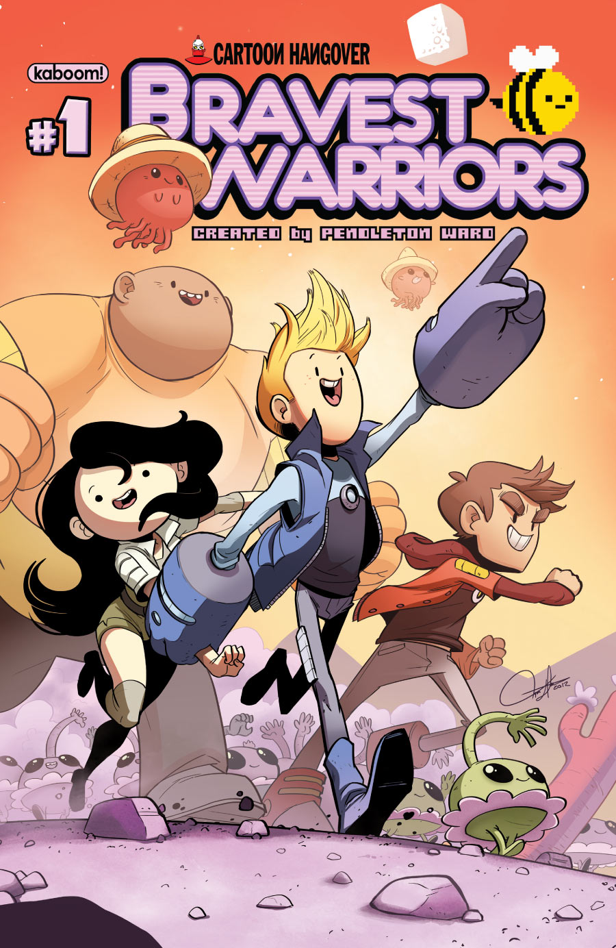 bravest warriors 1 - capa