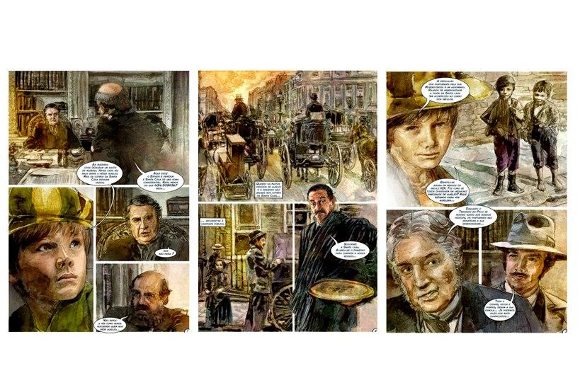 História da Santa Casa da Misericórdia do Porto em banda desenhada Vol. 4