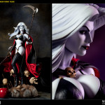 Merchandise: Lady Death Premium Format Figure