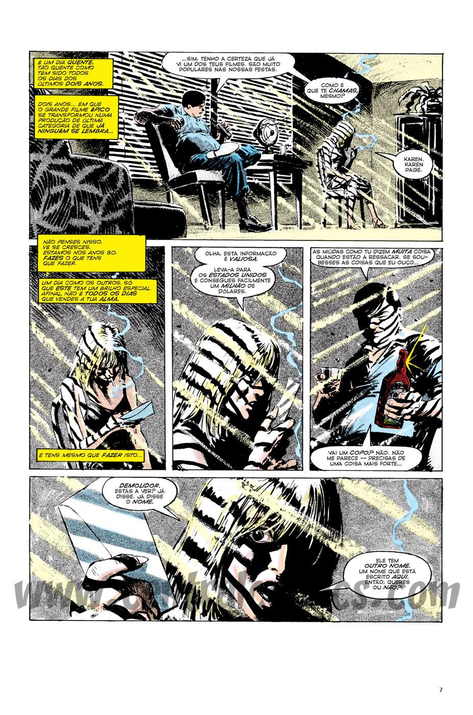 Demolidor Renascido Page 01