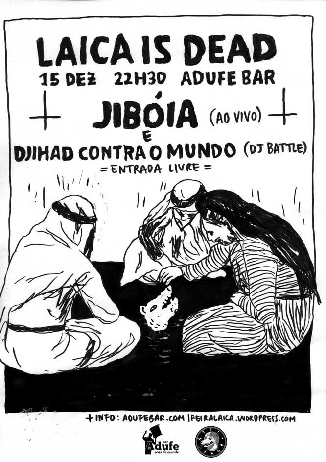 cartaz jiboia