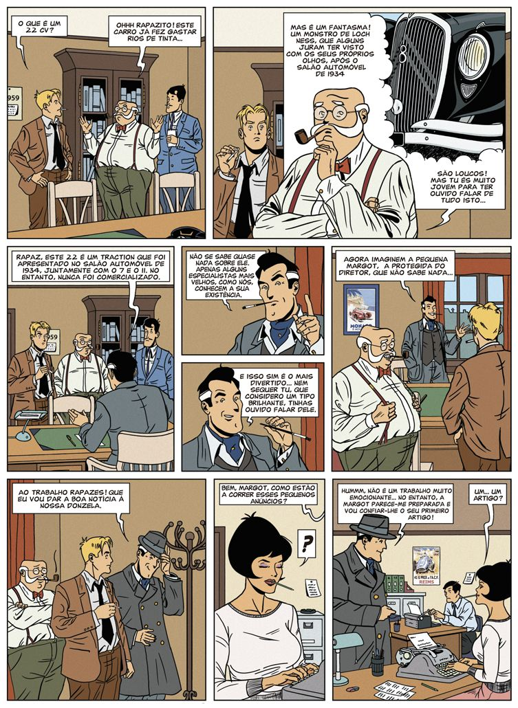 As Investigações de Margot Vol. 1 - O Mistério do Traction 22 página 2