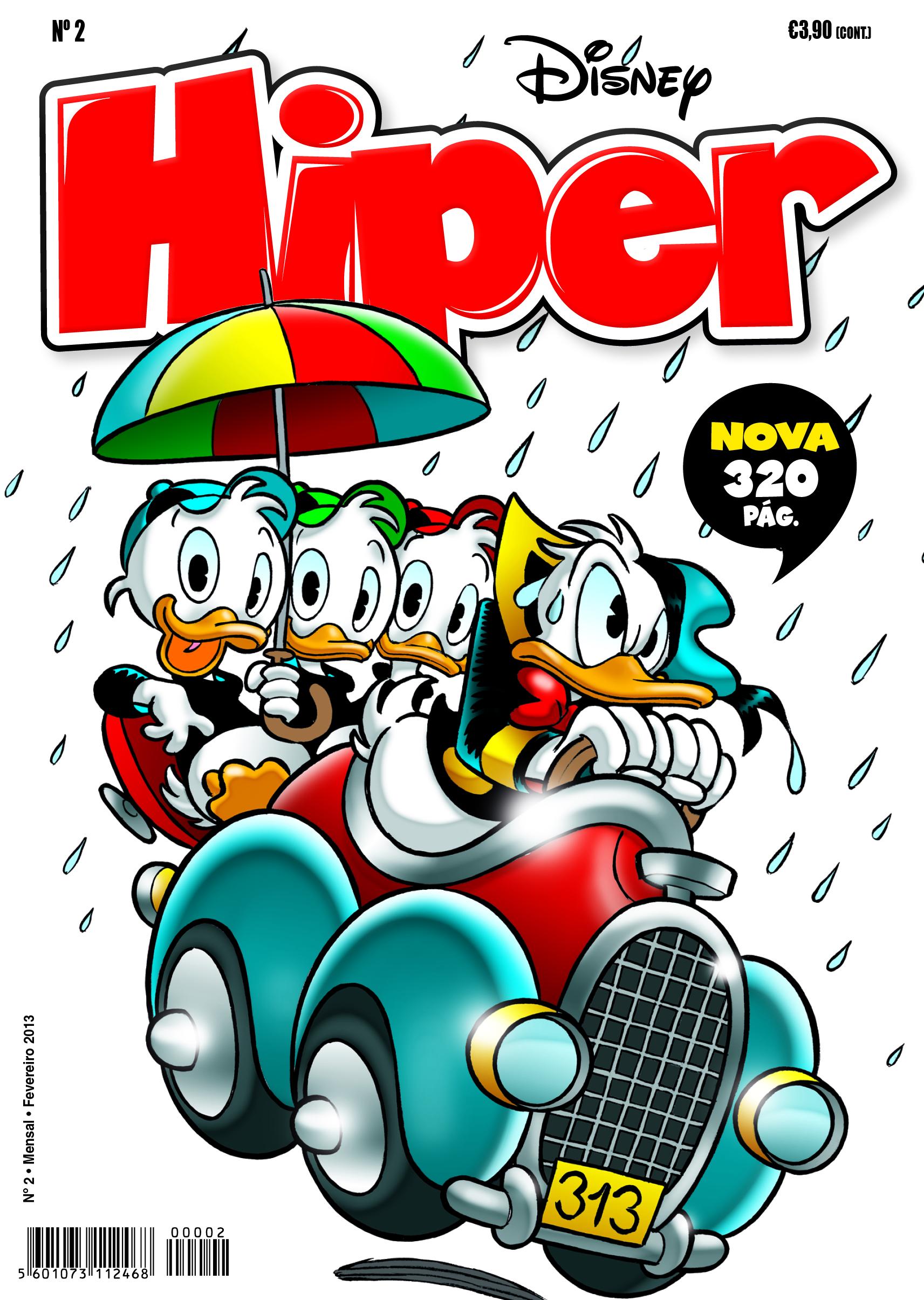 Capa Disney Hiper 2