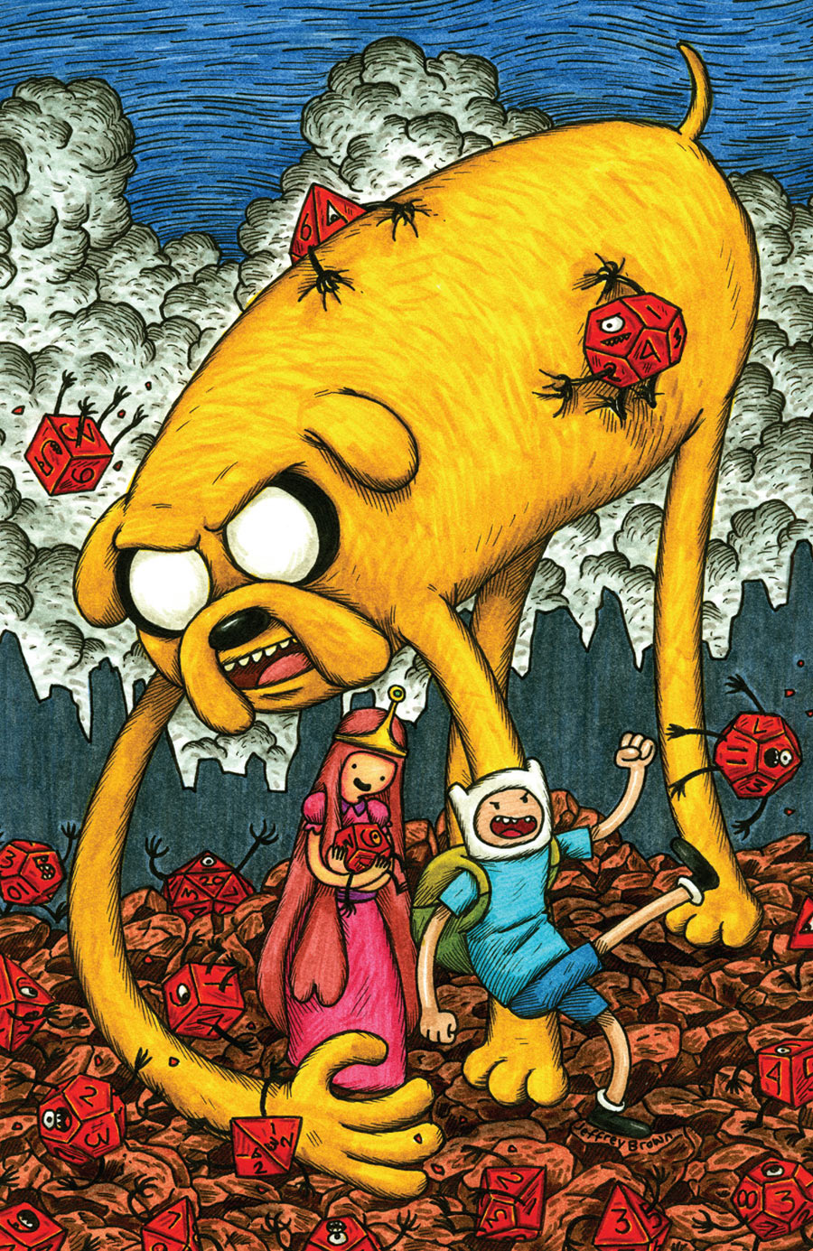 adventure time comicbook