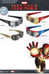 iron man 3 oculos 3d
