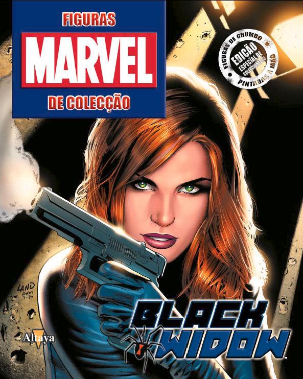 marvel figurine 65 - black widow-capa