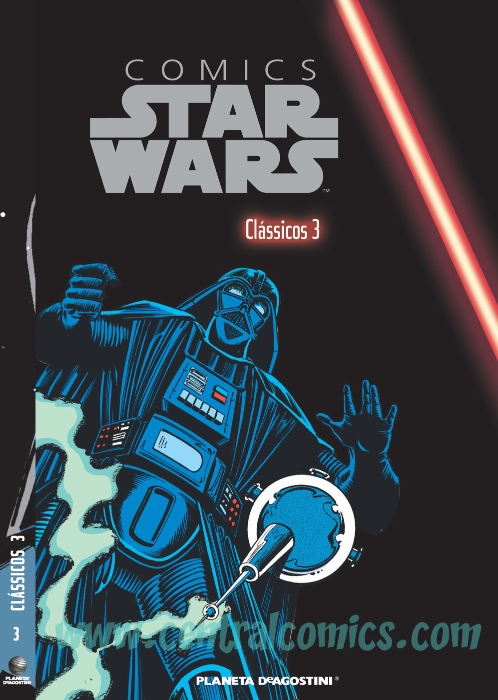 Comics star wars 3 capa