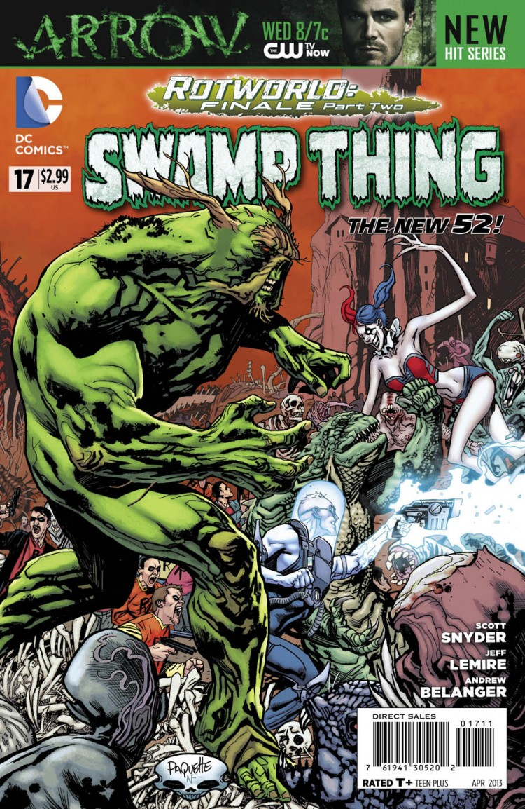 swamp thing 17 capa