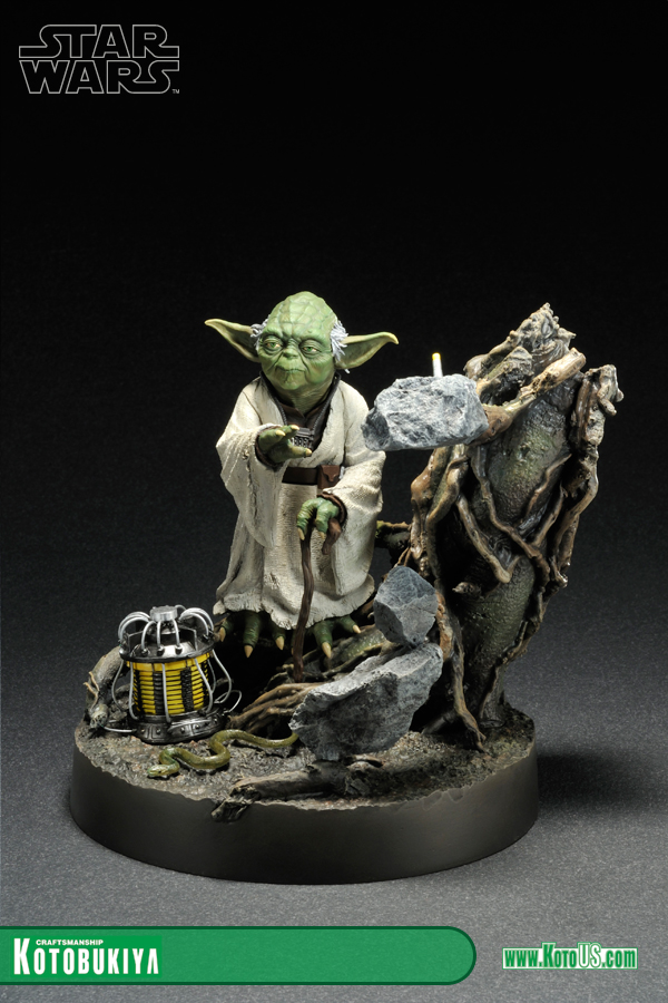 STAR WARS YODA THE EMPIRE STRIKES BACK VER. ARTFX STATUE