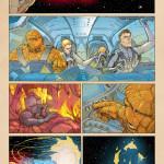 BD: Antevisão Fantastic Four #5AU de André Araújo