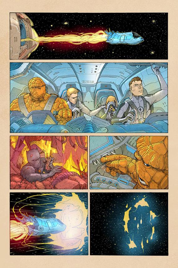 Fantastic Four 5AU página 3