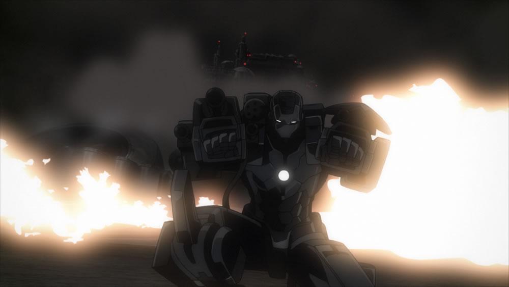 Iron Man Rise of Technovore war machine