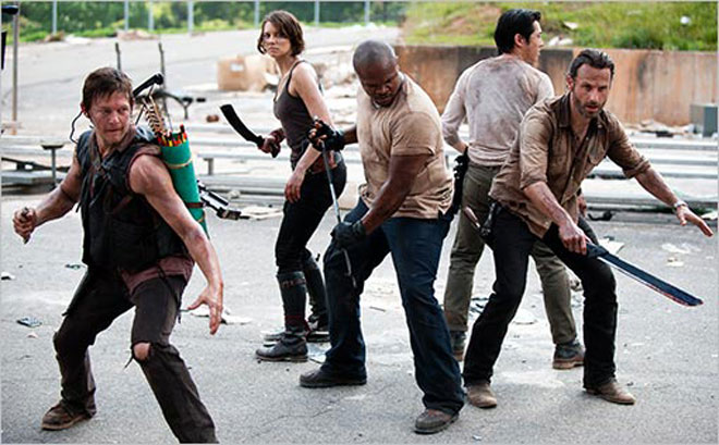 Walking Dead temporada 3