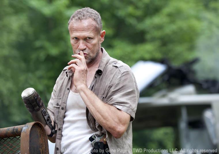 Walking Dead temporada 3