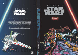 Capa Star Wars Comics Volume 7