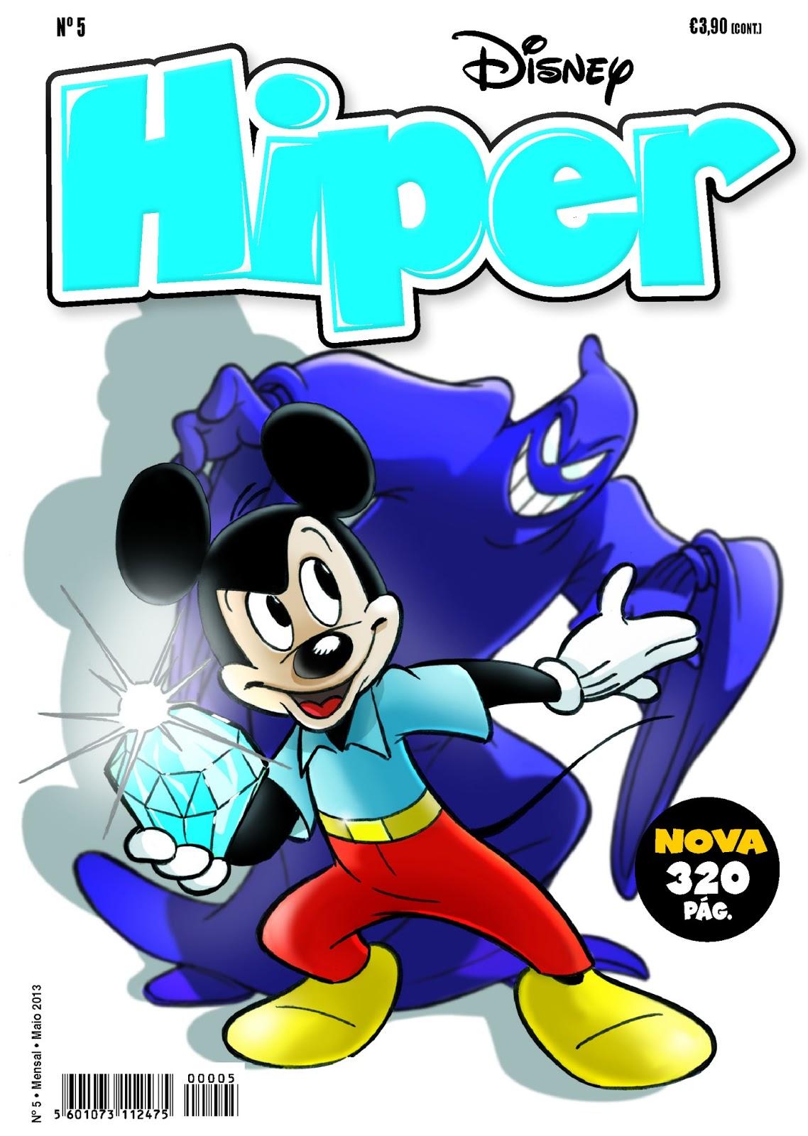 Disney Hiper #5 - Capa