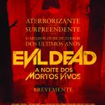Passatempo Ante-Estreia: Evil Dead – A Noite dos Mortos Vivos