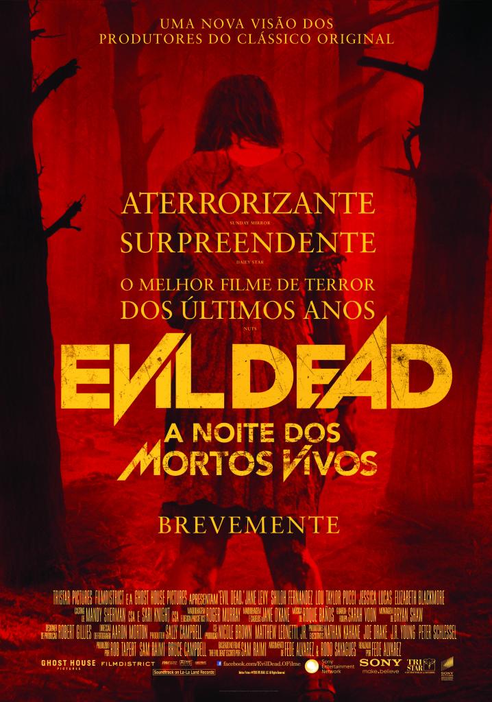 Evil Dead - Poster Português