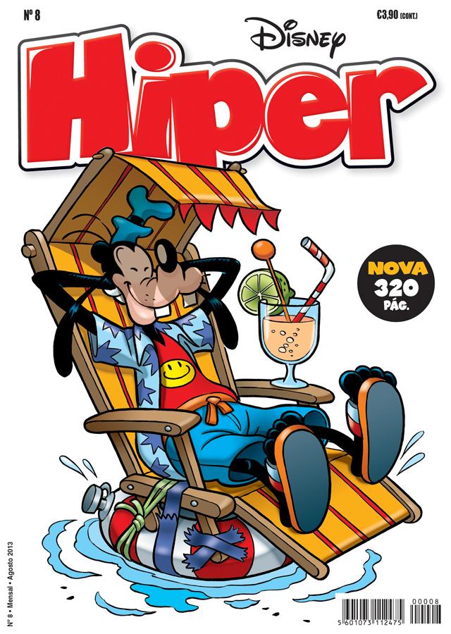 Capa Disney hiper 8