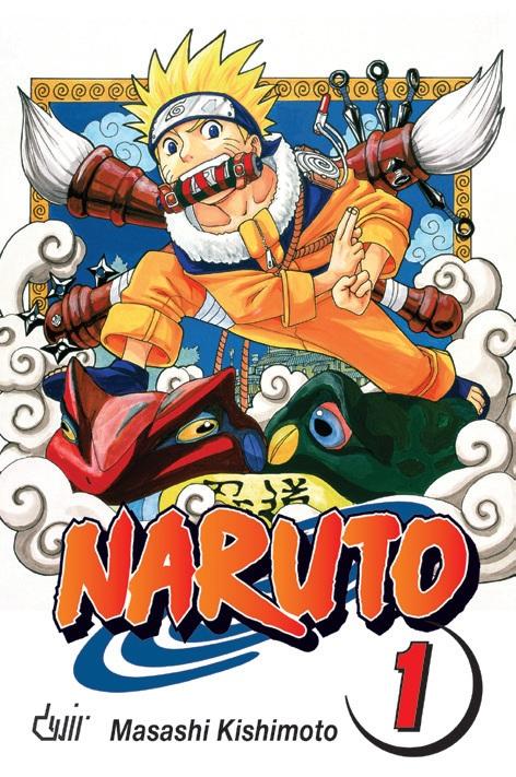 Naruto volume 1 - Edição Portuguesa