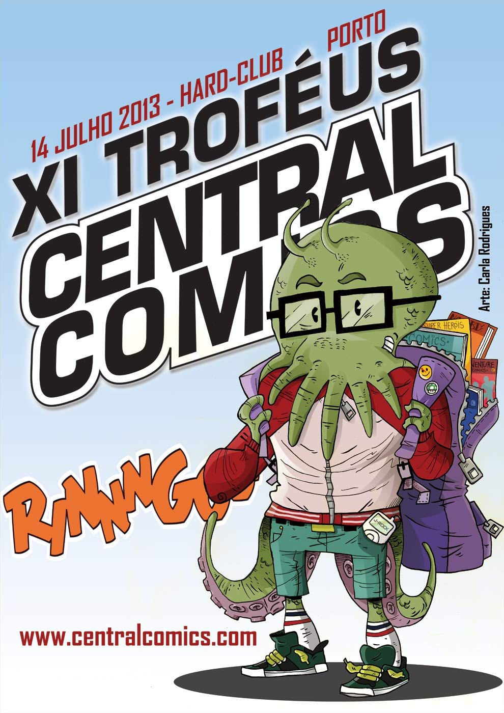 cartaz XI Troféus Central Comics