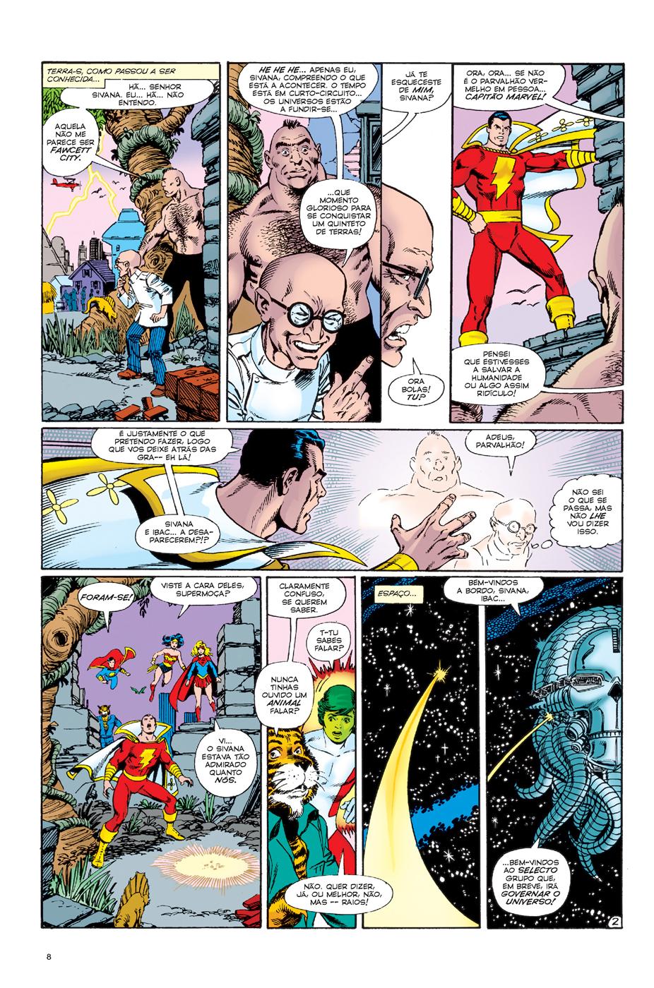 Crise nas Terras Infinitas 2 página 2