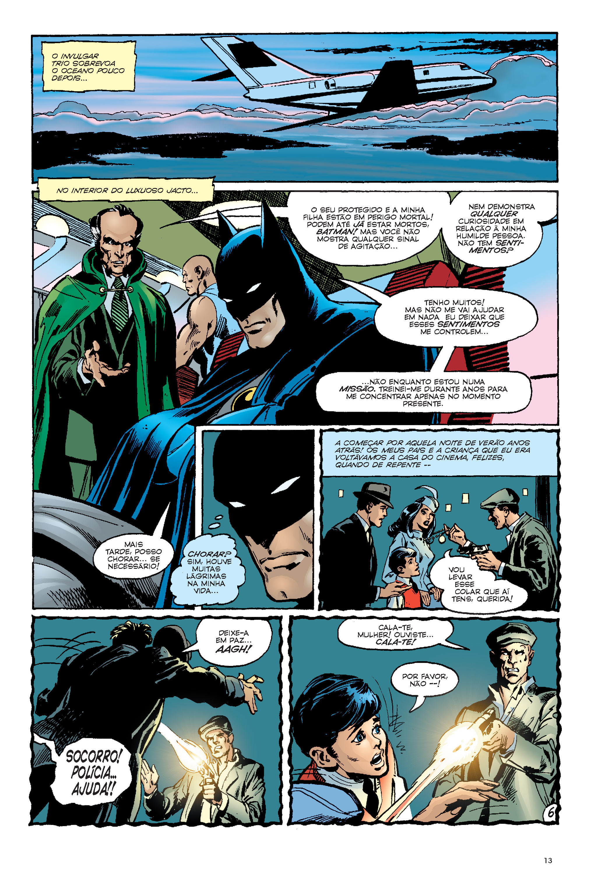 Batman Saga de Ras Al Ghul - página 6
