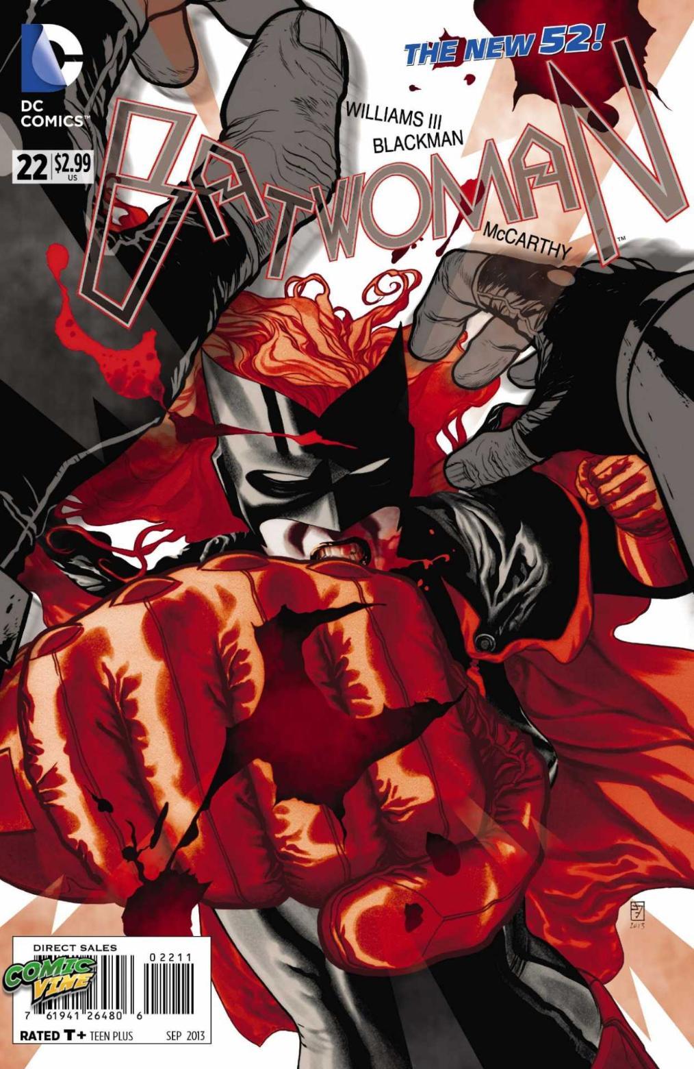 Batwoman new 52 #22 capa