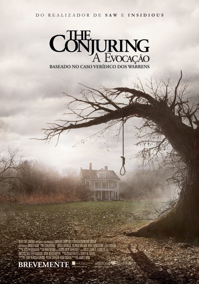 cartaz The conjuring