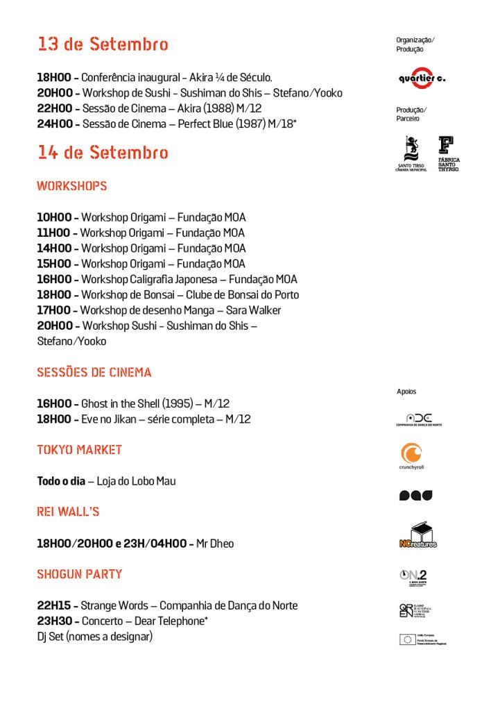 fast 2013 Programa