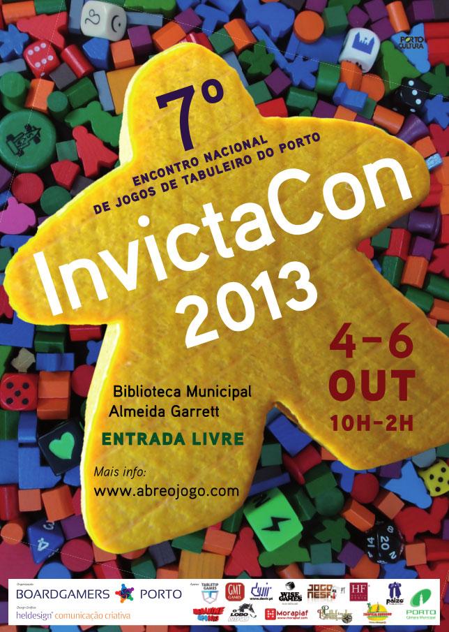 InvictaCon - Encontro Nacional de Jogos de Tabuleiro do Porto