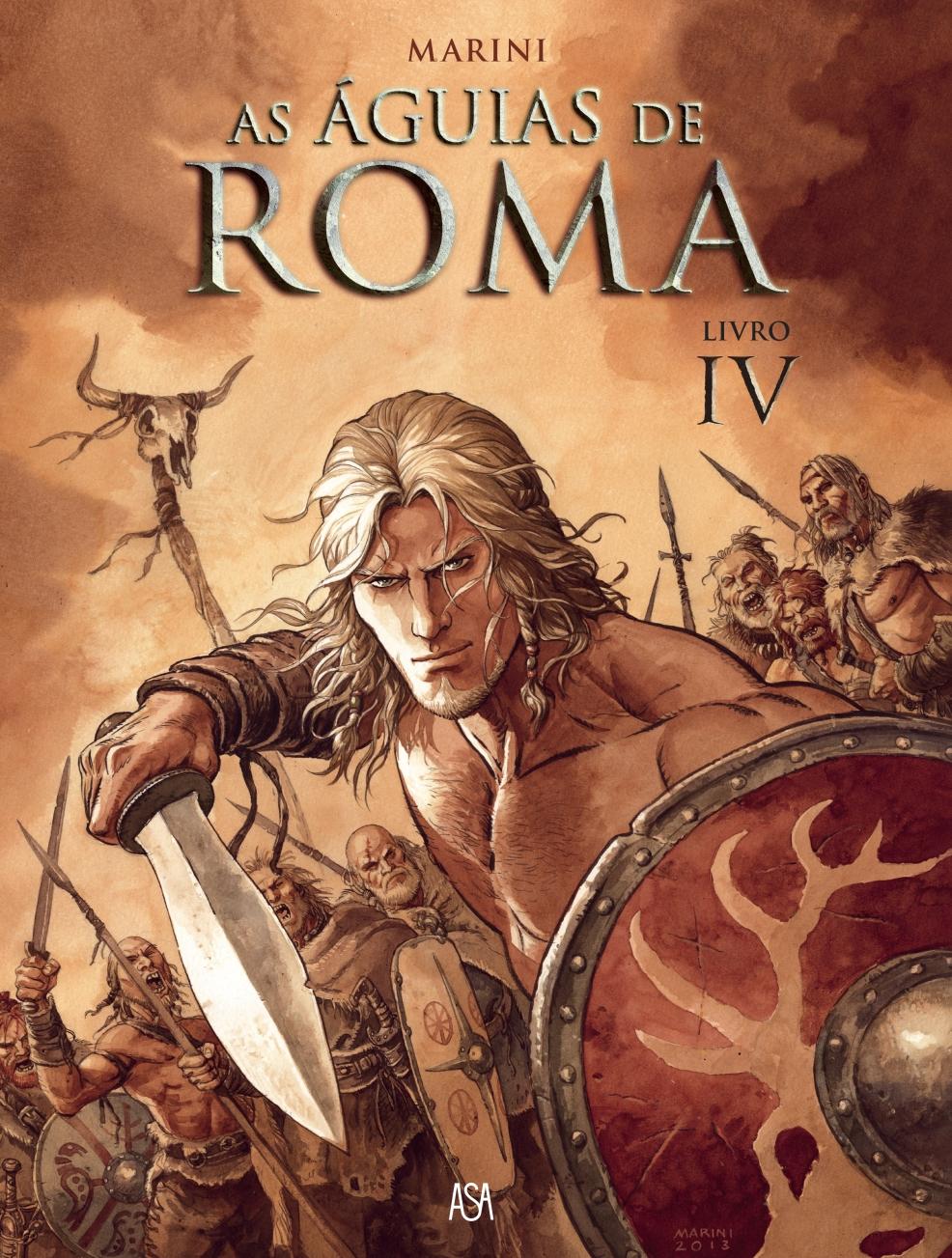 as aguias de roma IV