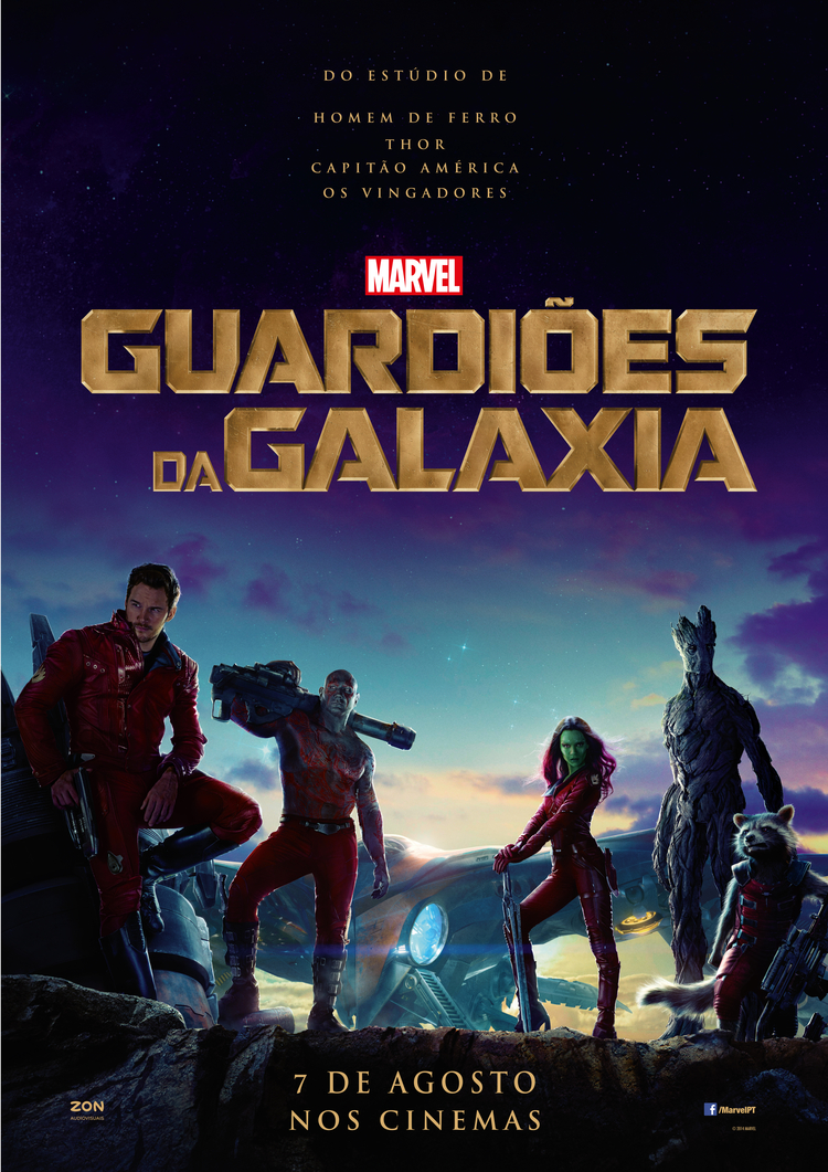 guardioes da galaxia poster portugal