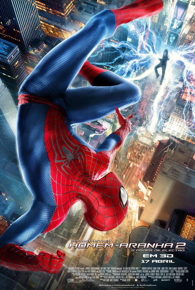 fantastico homem-aranha 2 poster