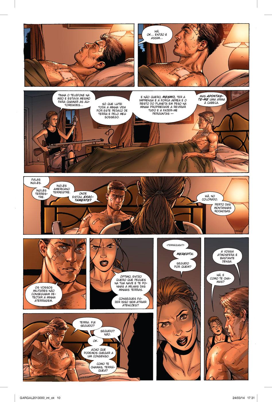 Guardiões da Galáxia: Vingadores Cósmicos página 6