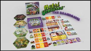 NUTRI VENTURES the boardgame
