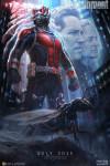 Póster conceptual de Ant-Man apresentada no San Diego Comic-Con