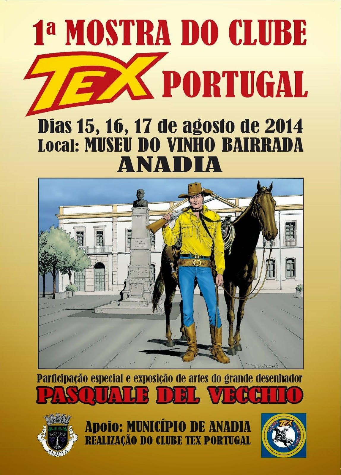 MOSTRA DO CLUBE TEX PORTUGAL